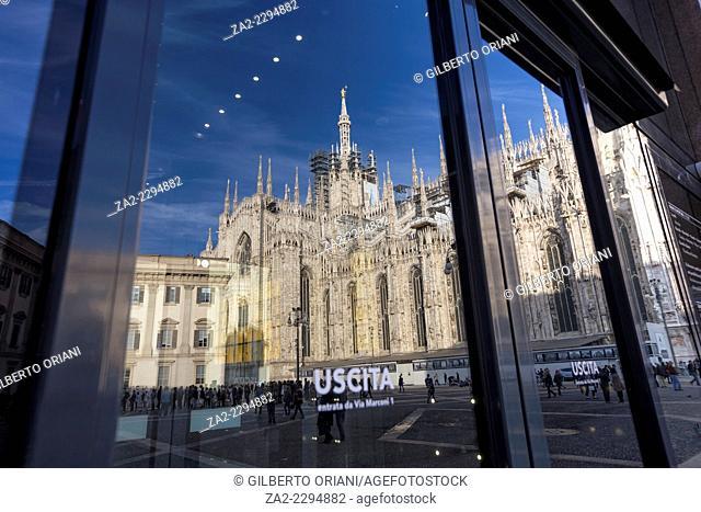 Museo del Novecento, Duomo square, Milan, Italy