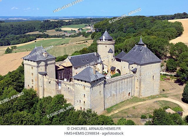 France, Moselle, Manderen, the castle of Malbrouck