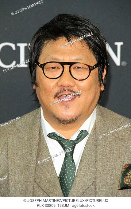 """Benedict Wong at The World Premiere of Marvel Studios' """"""""Avengers: Endgame"""""""" held at the Los Angeles Convention Center, Los Angeles, CA, April 22, 2019"""