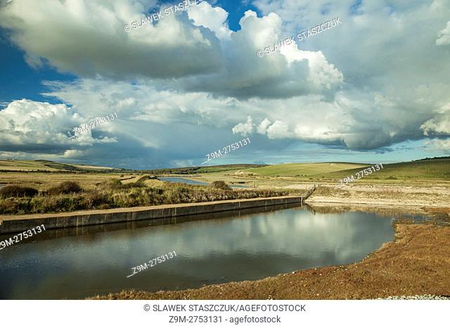 Cuckmere Have, East Sussex, England. South Downs National park
