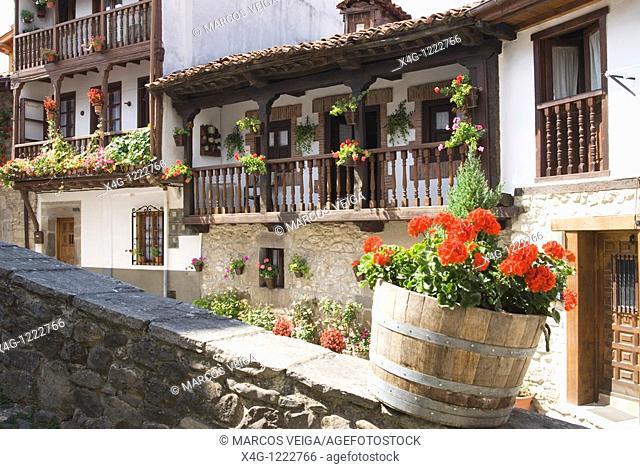 Village of Potes, Cantabria, Spain