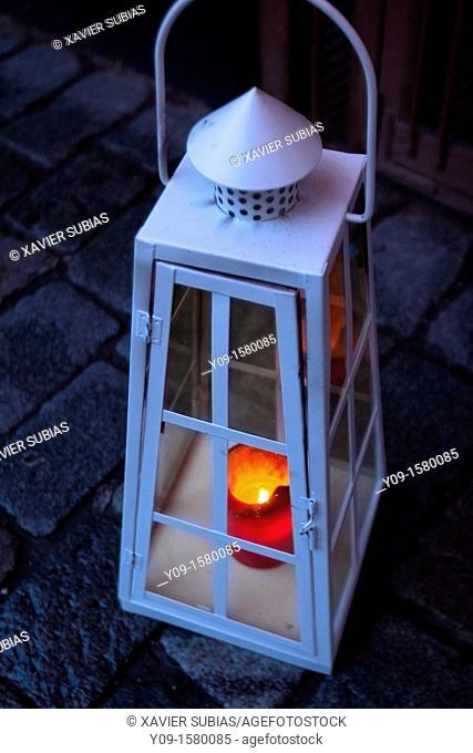 Christmas lamp, Stockholm, Sweden