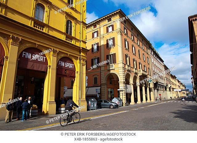 1a7b3b2cee1e Via dell'Indipendenza street central Bologna city Emilia-Romagna region  northern Italy Europe