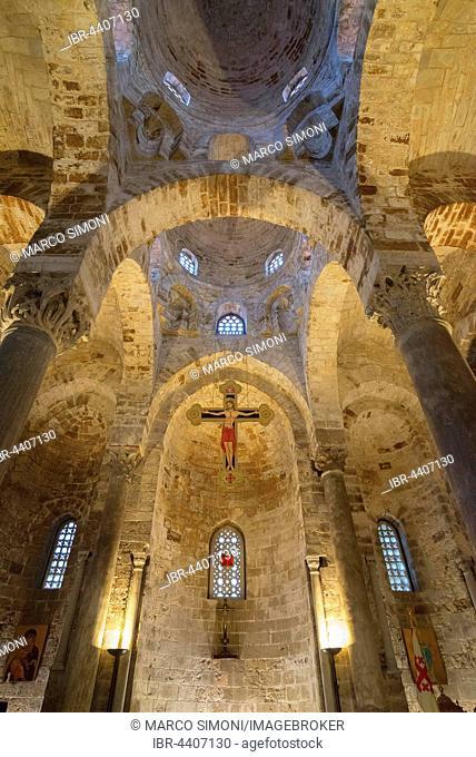 San Cataldo Church, Palermo, Sicily, Italy