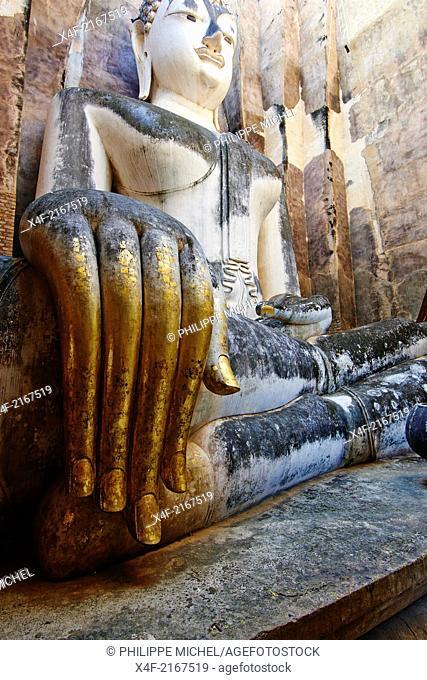 Thailand, Sukhothai, Sukhothai Historical Park, Wat Si Chum