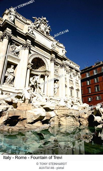 Italy - Rome - Fountain of Trevi