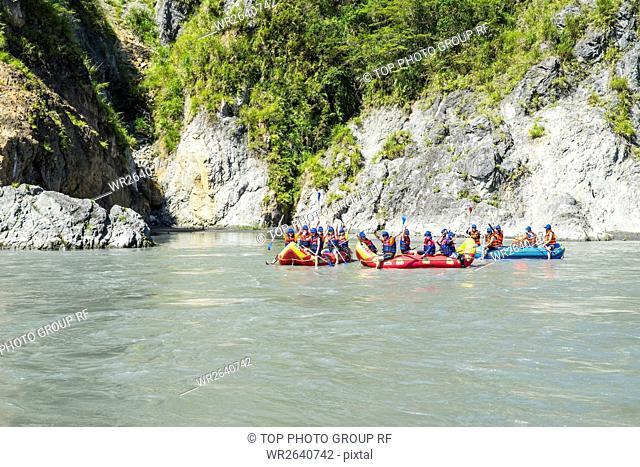 Hualian river rafting