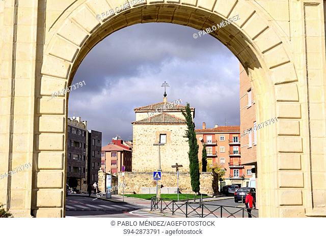 Arch in the surroundings of Segovia, Spain