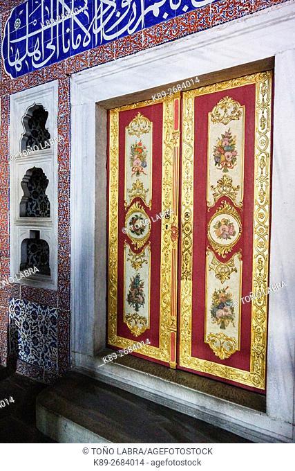 Imperial Harem. Topkapi Palace. Istanbul. Turkey