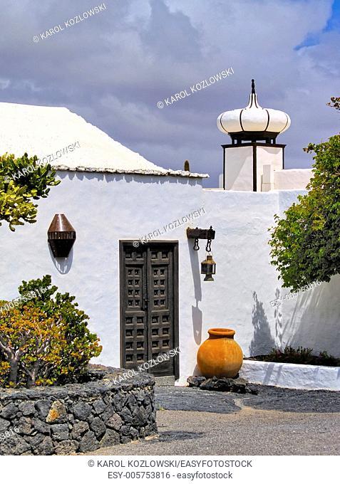 Cesar Marique Foundation in Tahiche, Lanzarote, Canary Islands
