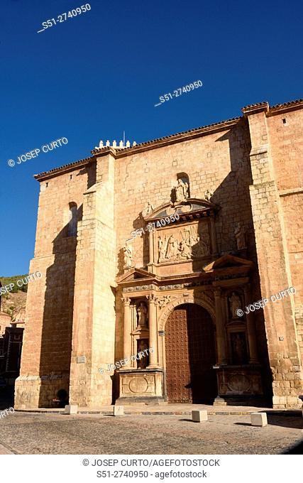 Santa Maria de los Sagrados Corporales church, Daroca; Zaragoza province, Aragon; Spain