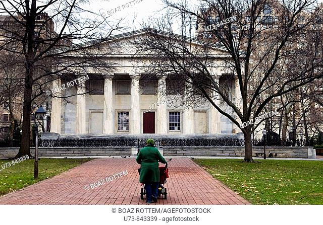 Beautiful buildings in Old parts of Philadelphia