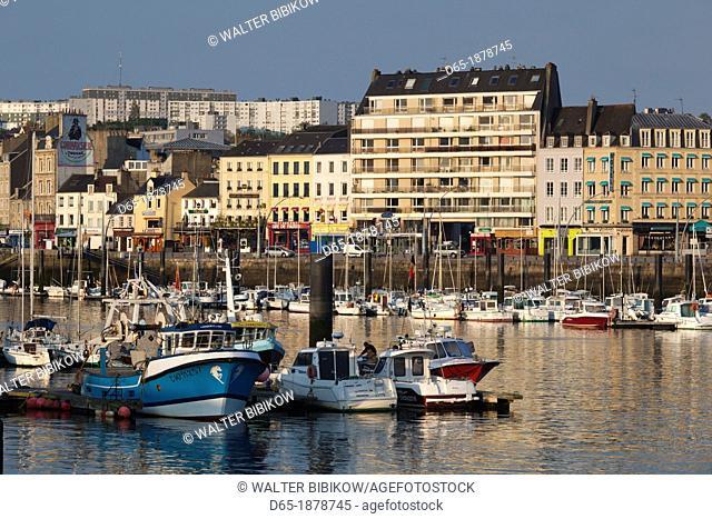 France, Normandy Region, Manche Department, Cherbourg-Octeville, Bassin du Commerce basin