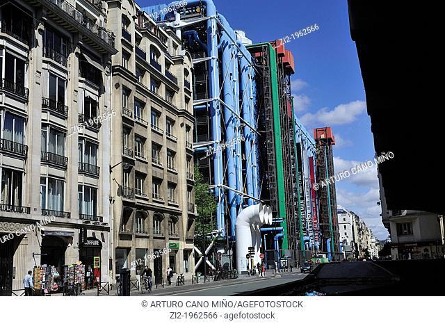 Pompidou Center. Paris, France