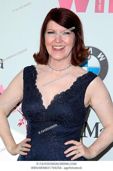 Women In Film 2017 Crystal + Lucy Awards® presented by Max Mara and BMW Featuring: Kate Flannery Where: Beverly Hills, California
