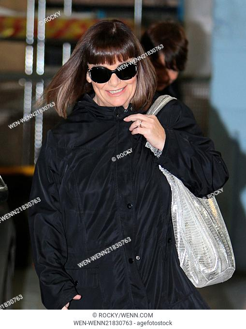 Dawn French outside the ITV Studios Featuring: Dawn French Where: London, United Kingdom When: 15 Oct 2014 Credit: Rocky/WENN.com
