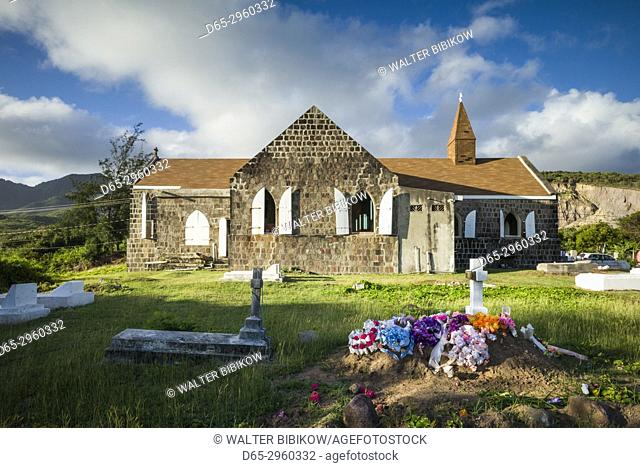 St. Kitts and Nevis, Nevis, Hicks Village, St. James Anglican Church