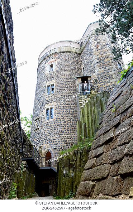 Castle in Stolpen, Saxony, Germany
