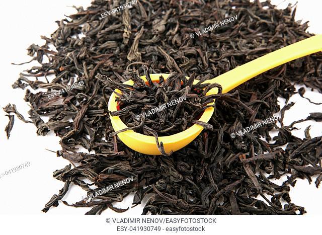 Dried Black Tea Leaves