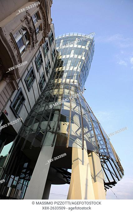 Dancing House by Frank Gehry, Prague, Czech Republic