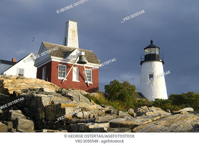 Pemaquid Point Lighthouse, Pemaquid Point Lighthouse Park, Maine
