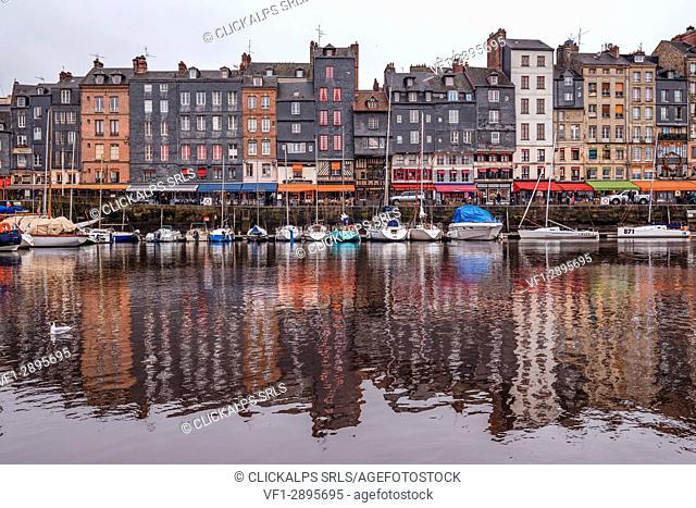 Honfleur, Lisieux arrondissement, Calvados département, Normandy, France, Europe