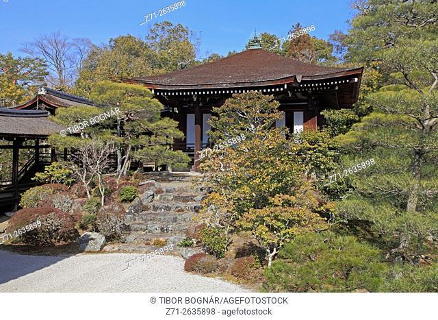 Japan, Kyoto, Ninna-ji Temple, garden,