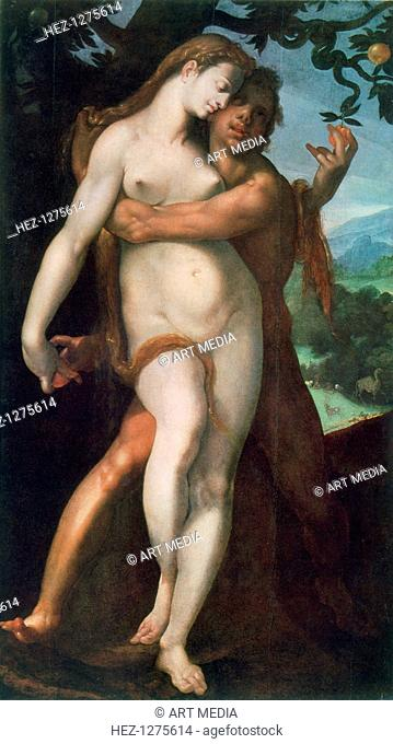 'Adam and Eve', c1566-1611