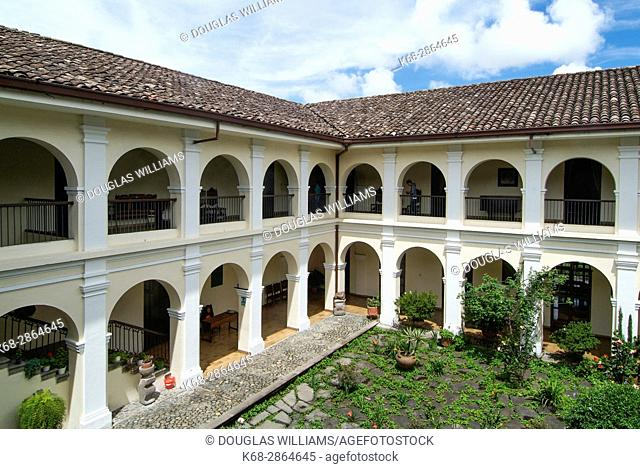 Museum, house of Guillermo Valencia in Popayan, Colombia