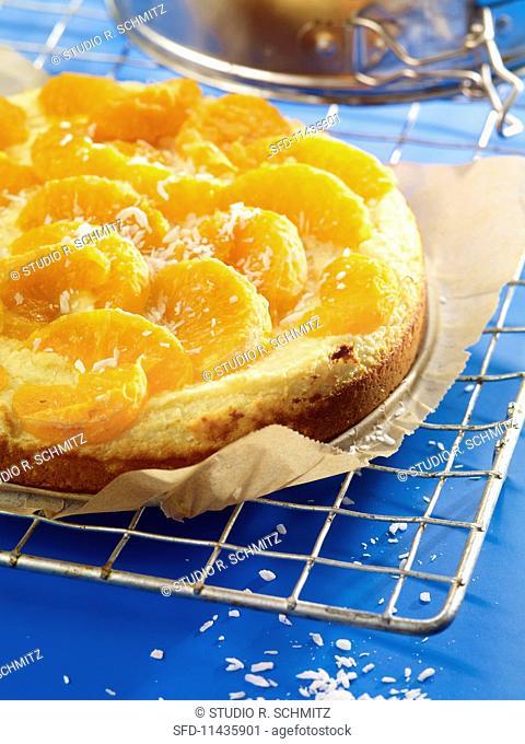 Quark cake with fruit