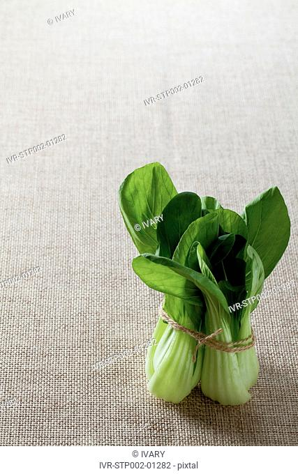 Tied Up Bok Choy
