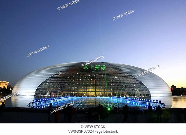 National Centre For The Performing Arts,Beijing,China
