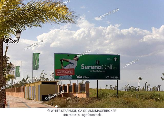 New urban development with a golf course in Los Alcazares, Murcia Region, Spain, Europe