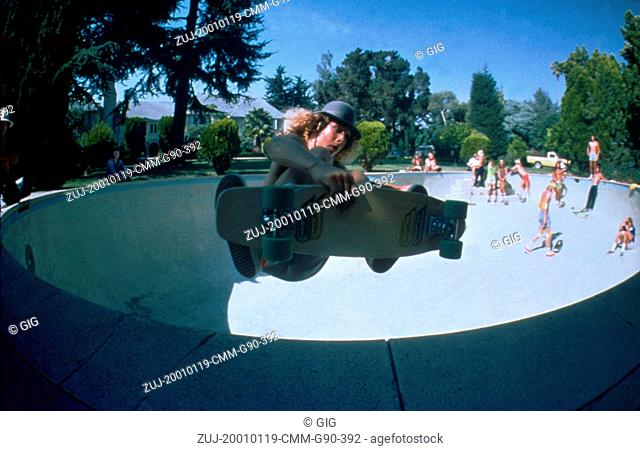 Jan 19, 2001; Hollywood, CA, USA; TONY ALVA as himself in the documentary, 'Dogtown and Z-Boys,' about the pioneering of 1970s Zephyr skating directed by Stacy...