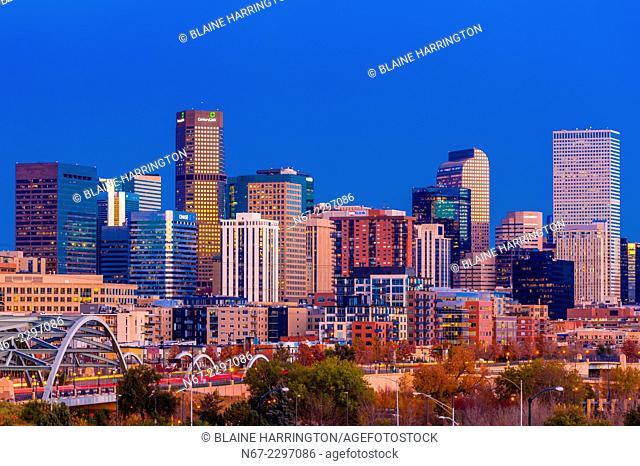 Downtown Denver, Colorado USA