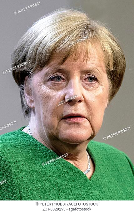 Angela Merkel - * 17. 05. 1954: German Politician of the Christian Democratic Union and Chancellor of the Federal Republic of Germany