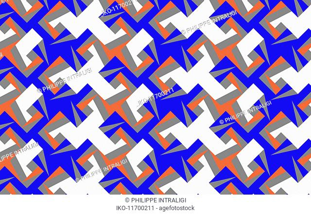 Abstract full frame angular backgrounds pattern