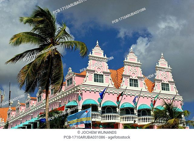 Aruba, Oranjestad, royal plaza shopping mall