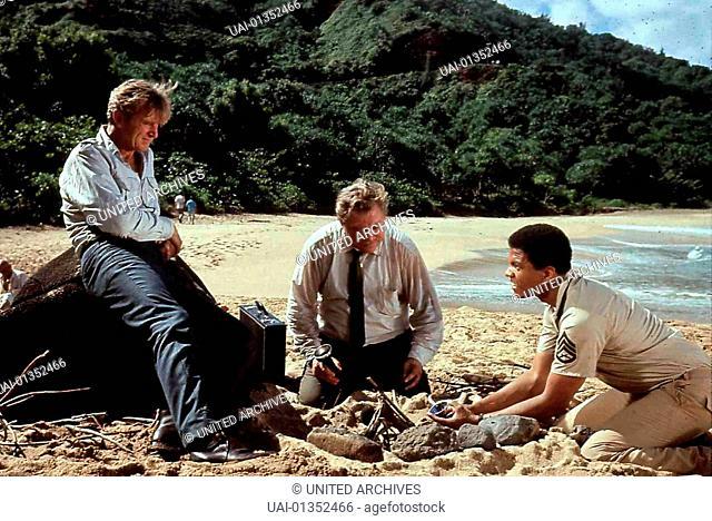 Verschollen Im Pazifik, Lost Flight, Verschollen Im Pazifik, Lost Flight, Lloyd Bridges, ?, Billy Dee Williams Auf dem Flug von Hawaii nach Australien geraet...