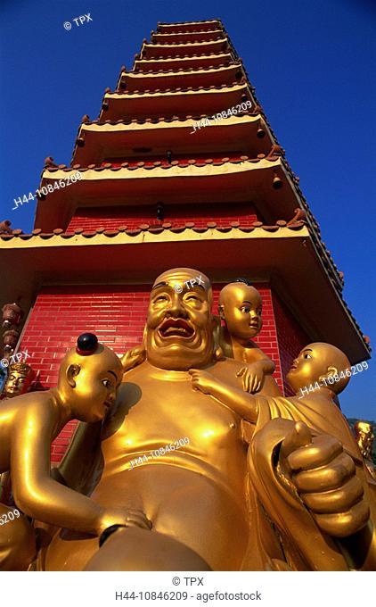 China, Asia, Hong Kong, Asia, New Territories, Kowloon, Sha Tin, Ten Thousand Buddha Monastery, Monastery, Temple, Tem