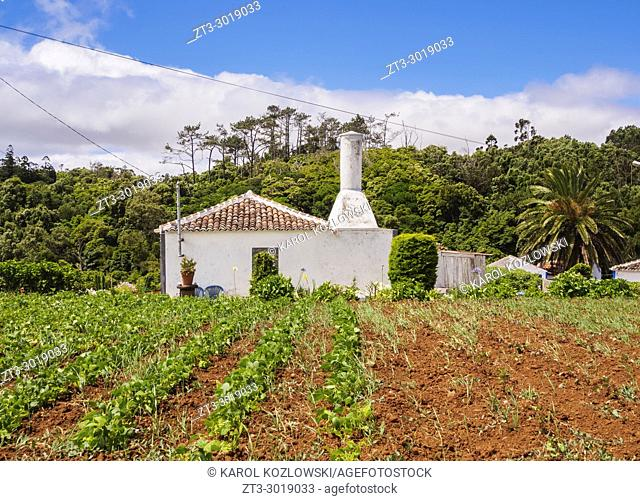 Traditional House, Santa Maria Island, Azores, Portugal