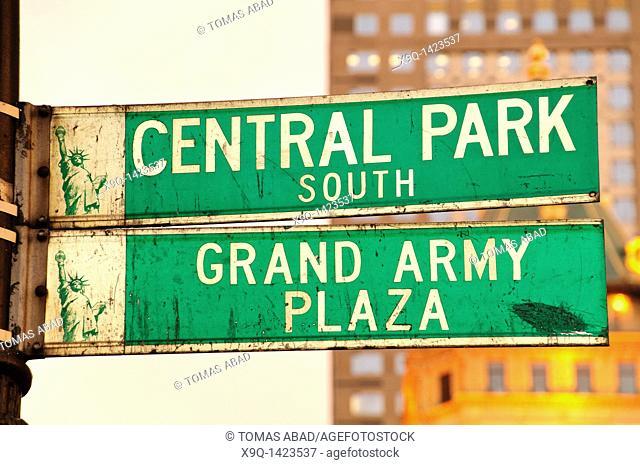 5th Avenue, Central Park, New York City