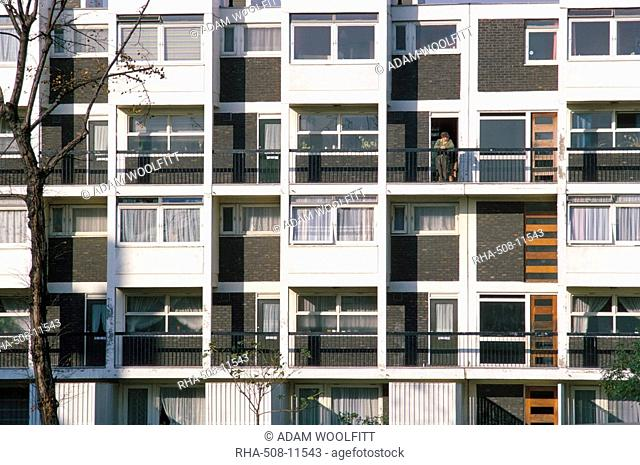 Council houses, Paddington, London, England, United Kingdom, Europe