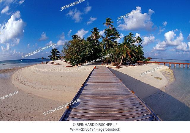 Maledivian Island, Indian Ocean, Medhufushi, Meemu Atoll, Maldives
