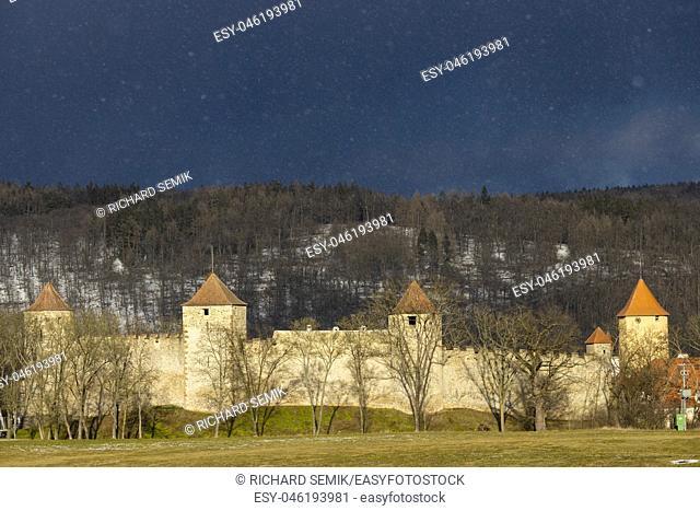 Veveri castle, Czech Republic
