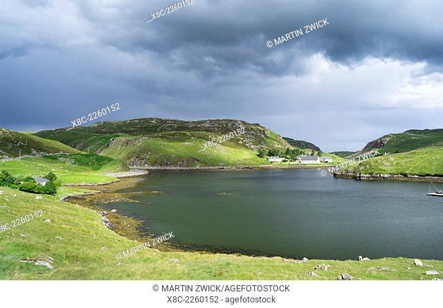 landscape in the northern part of the Isle of Lewis, which ,together with the connected Isle of Harris, make up the largest island in Scotland