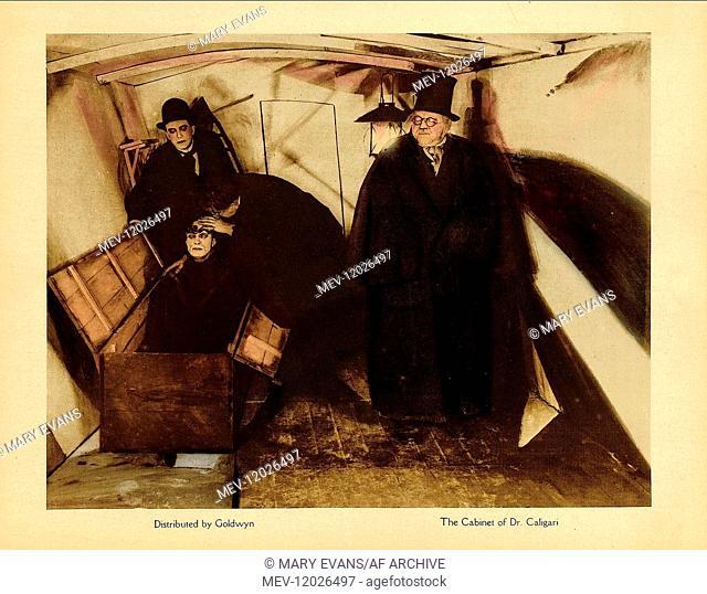 Werner Krauss & Conrad Veidt Characters: Dr. Caligari, Cesare Film: The Cabinet Of Dr. Caligari (DE 1920) / Auch: 'Das Kabinett Des Doktor Caligari' Director:...