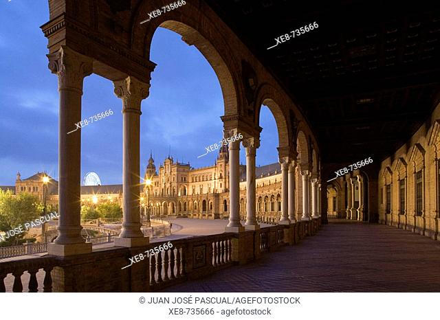 Plaza de España, Sevilla. Andalucia, Spain