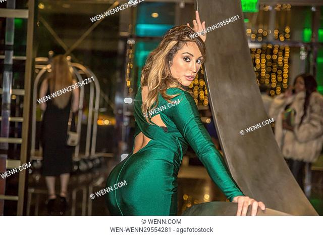 Penthouse Pet Christiana Cinn Attending The 68th Primetime Emmy Awards After Party Celebration For Maxim