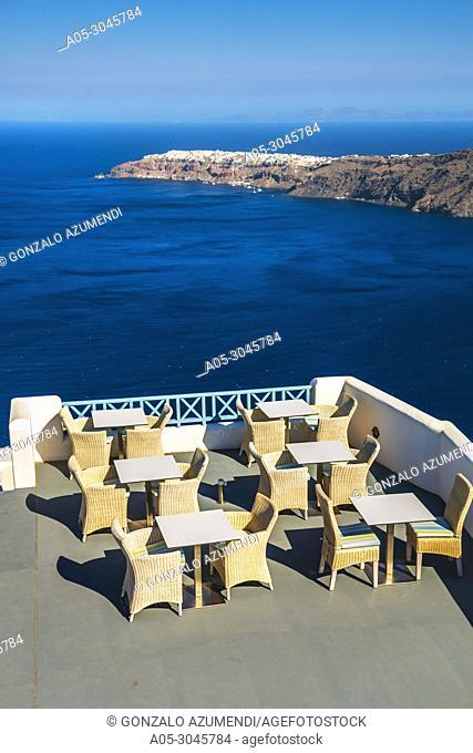 Imerovigli. Santorini Island. Ciclades Islands. Greece